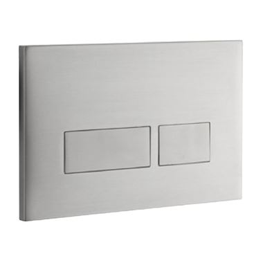 Drench Premium Trend Stainless Steel Flush Plate - Brushed Stainless Steel